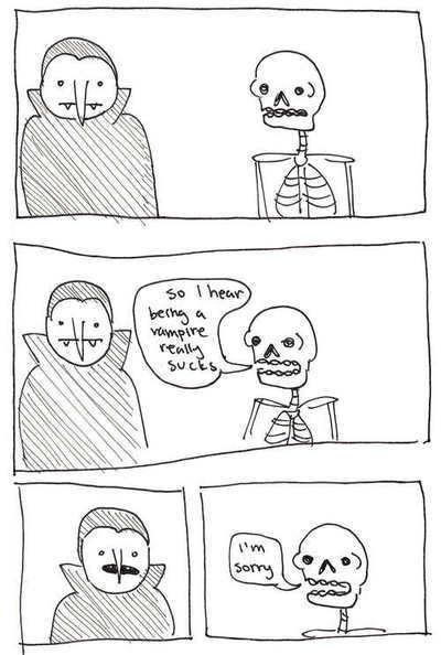 spooky skeleton - meme