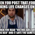 Life repeating it self