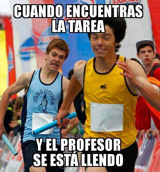 Posta Interescolar Chile 2015 - meme