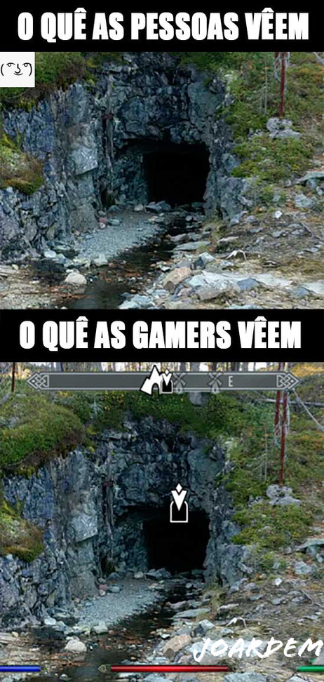 Gamer fazendo gamisse - meme