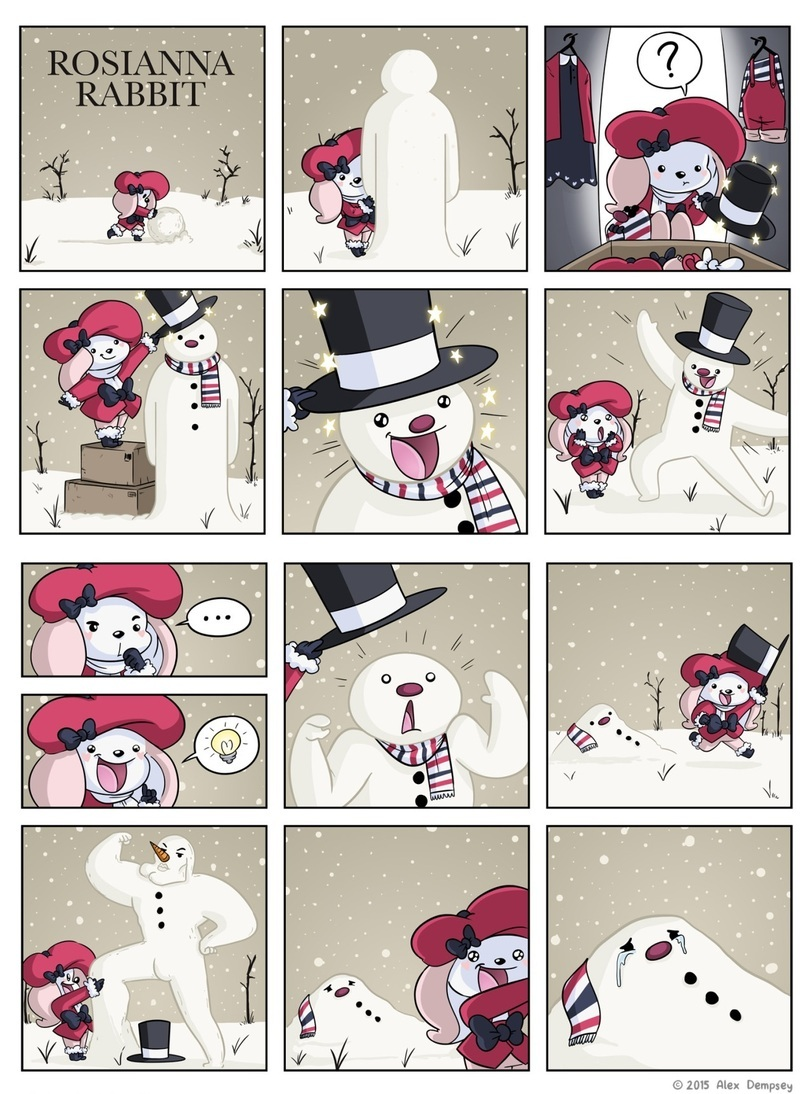 a sexy snowman - meme