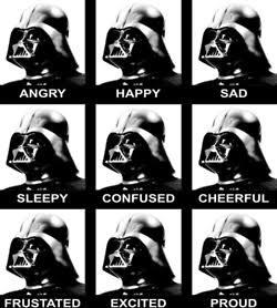 Vader está rindo - meme