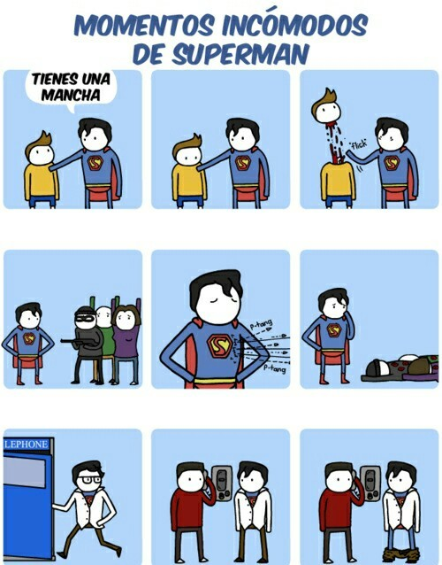 Pobre superman - meme