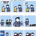 Pobre superman