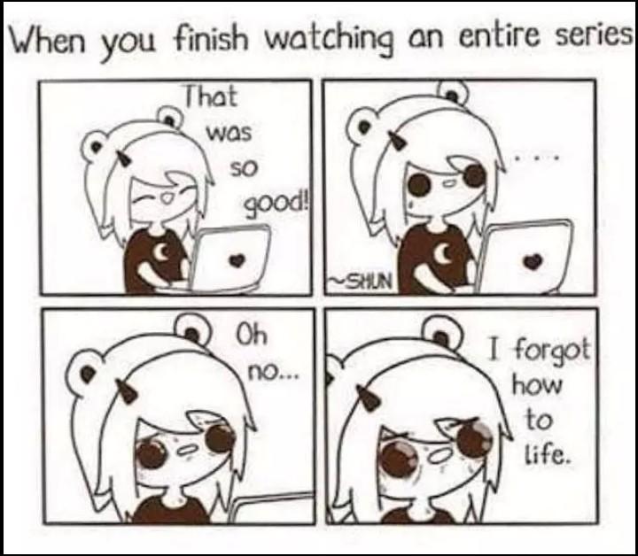'~'    favorite anime ? =) - meme