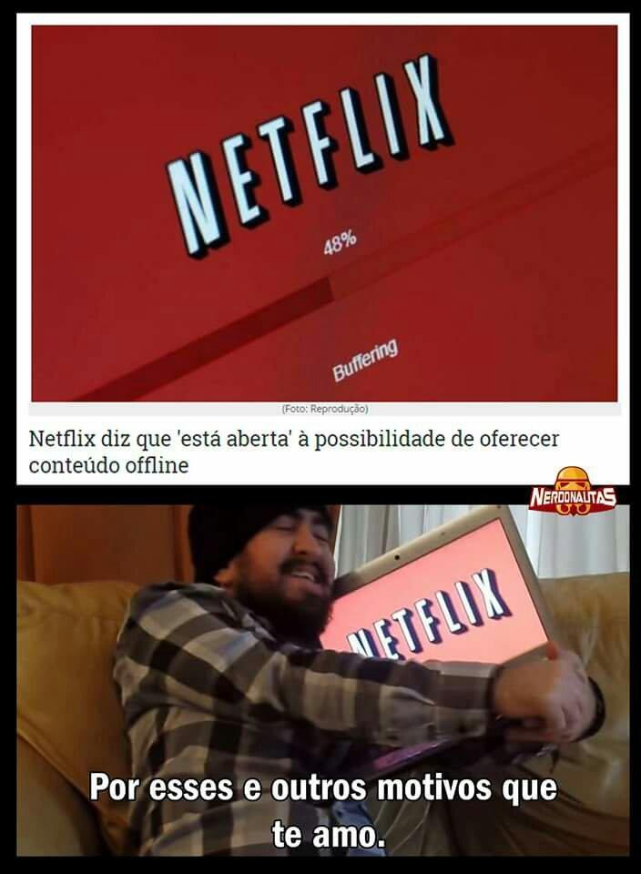 Netiflix i love - meme