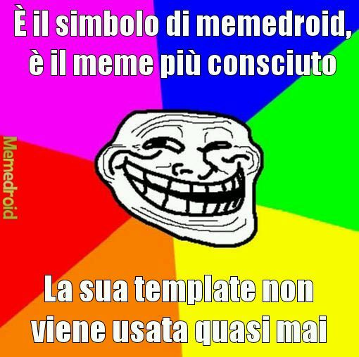 Sad troll face - meme