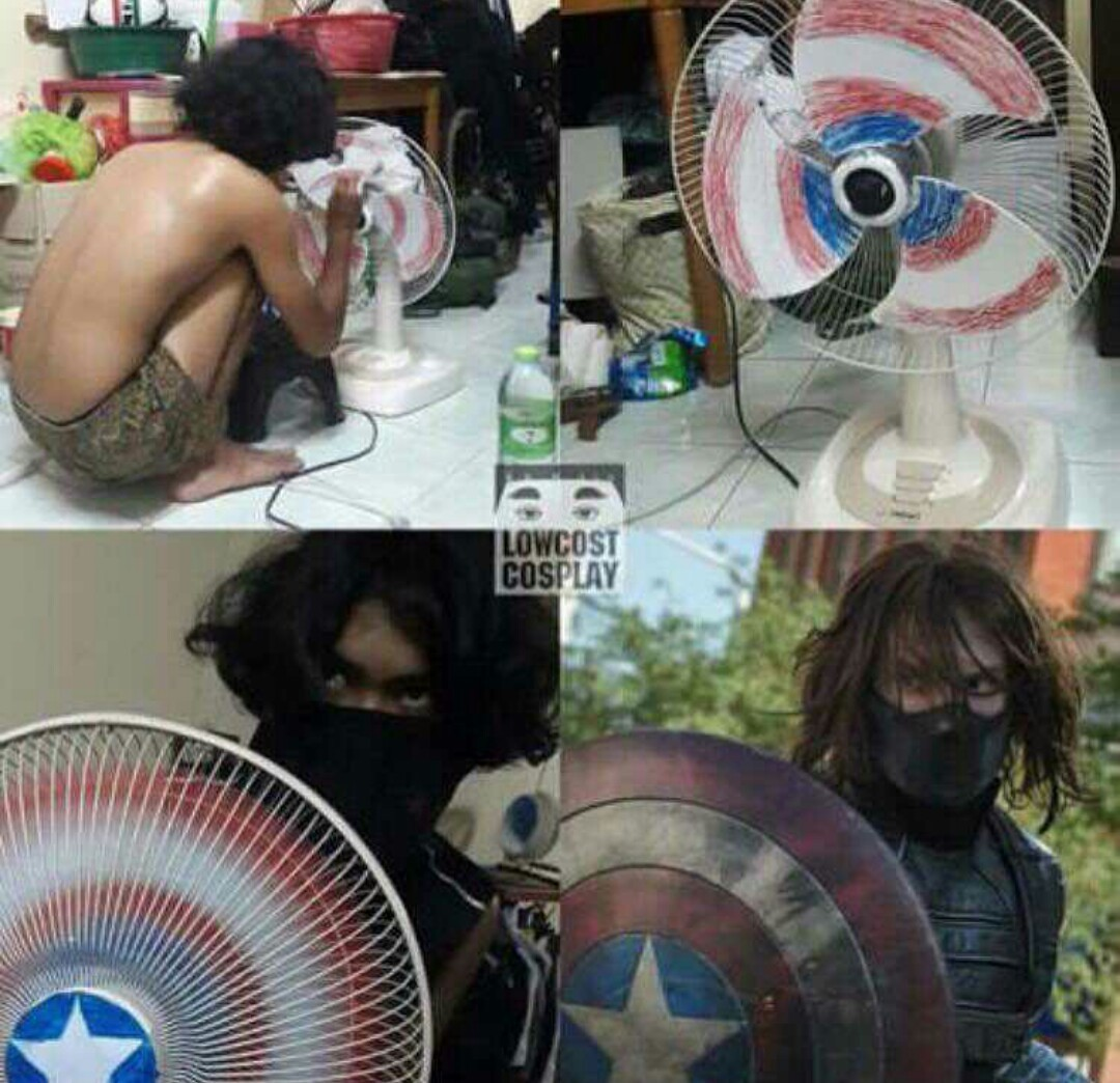 Civil war pobre - meme