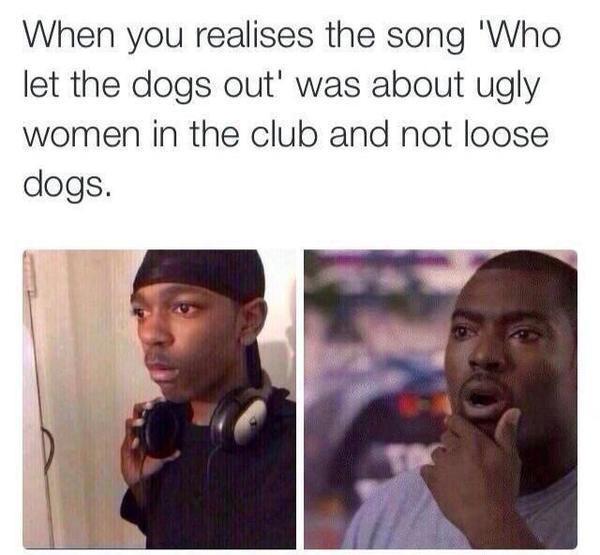 Awkward... - meme