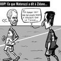 La vraie raison du coup de tête de zidane ^^