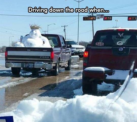 Snowman - meme