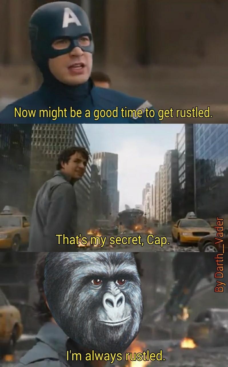Rustle - meme