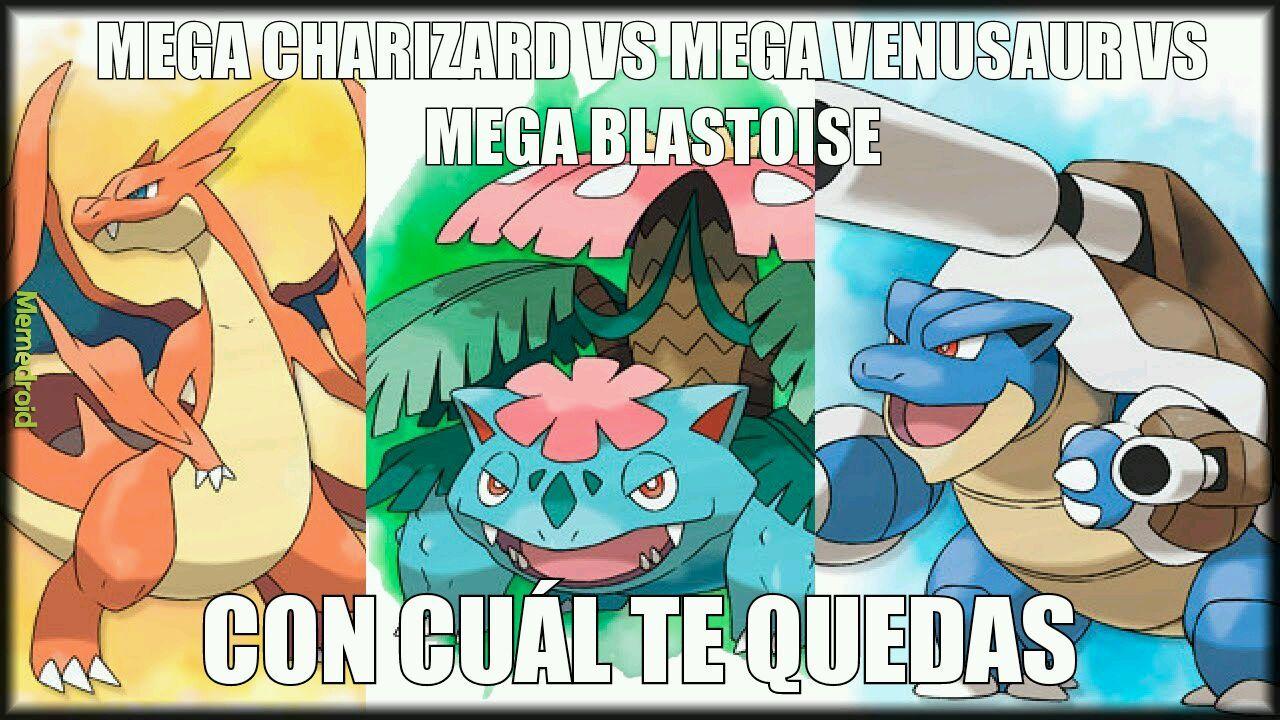 Yo estoy un poco por Mega Venusaur - meme