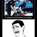 El título... quiere ser policía