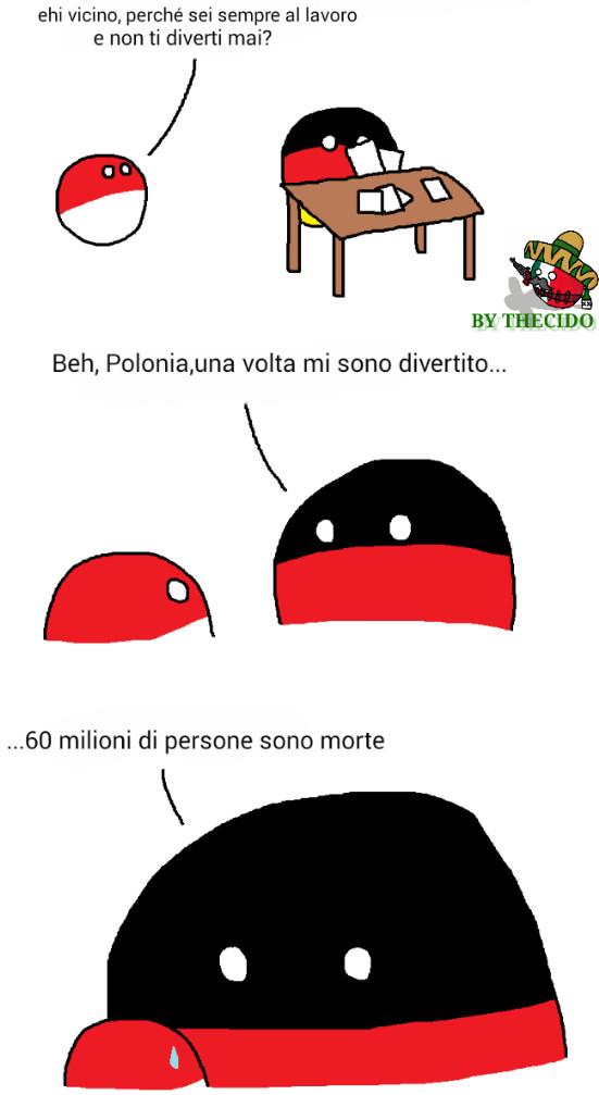 Le polandball conquisteranno il server italiano! Che ne pensate, fanno ridere? - meme