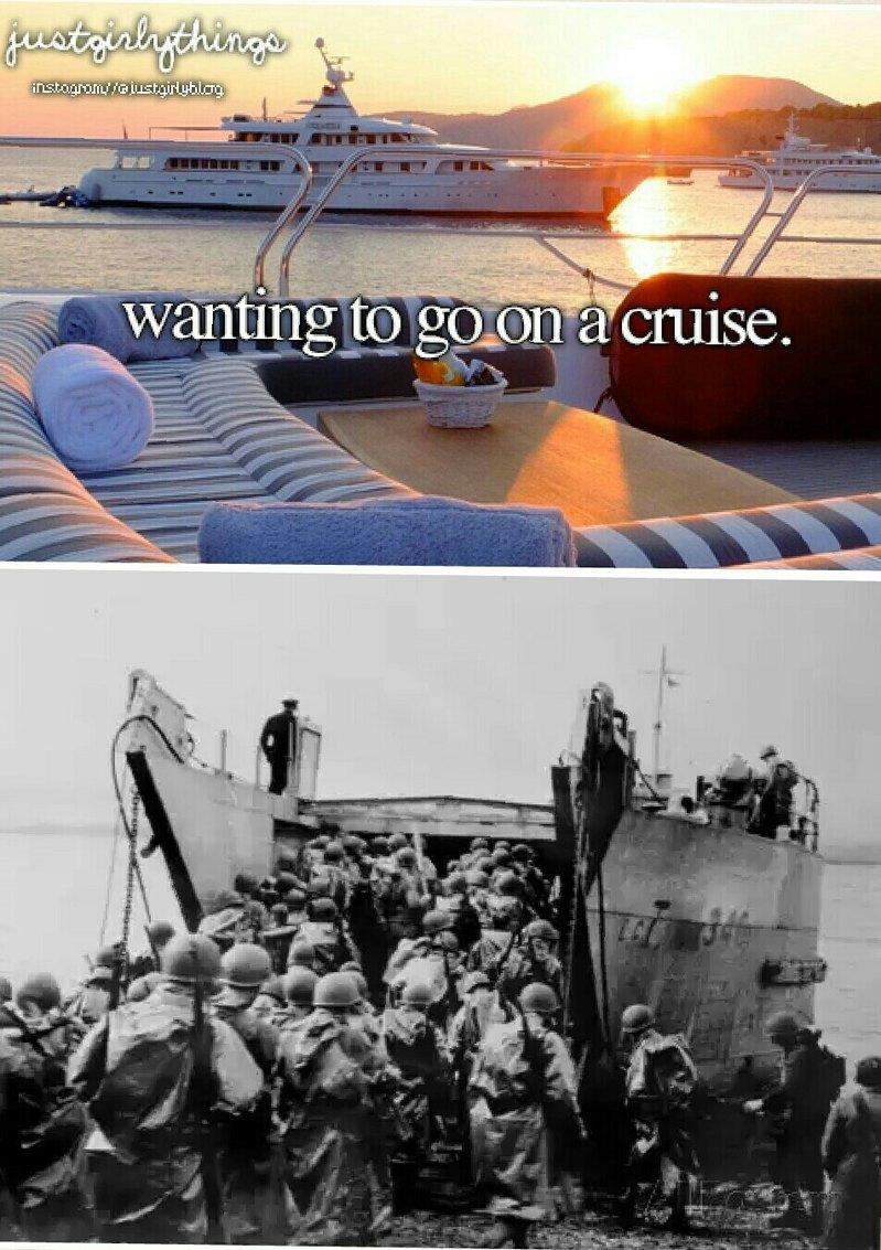 Cruise ship - meme