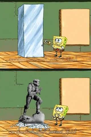 Debemos ser el mármol (°u°)7  UwU - meme