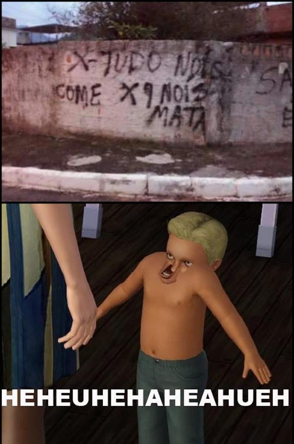 No brasil é assim! - meme