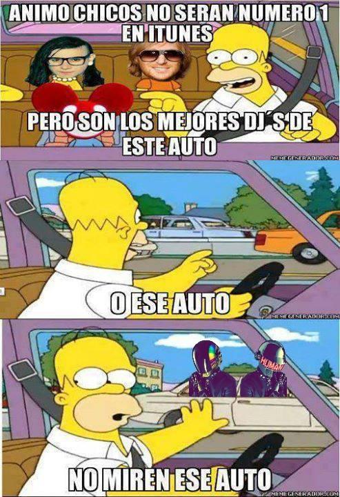 Daft Punk son los mejores!! - meme