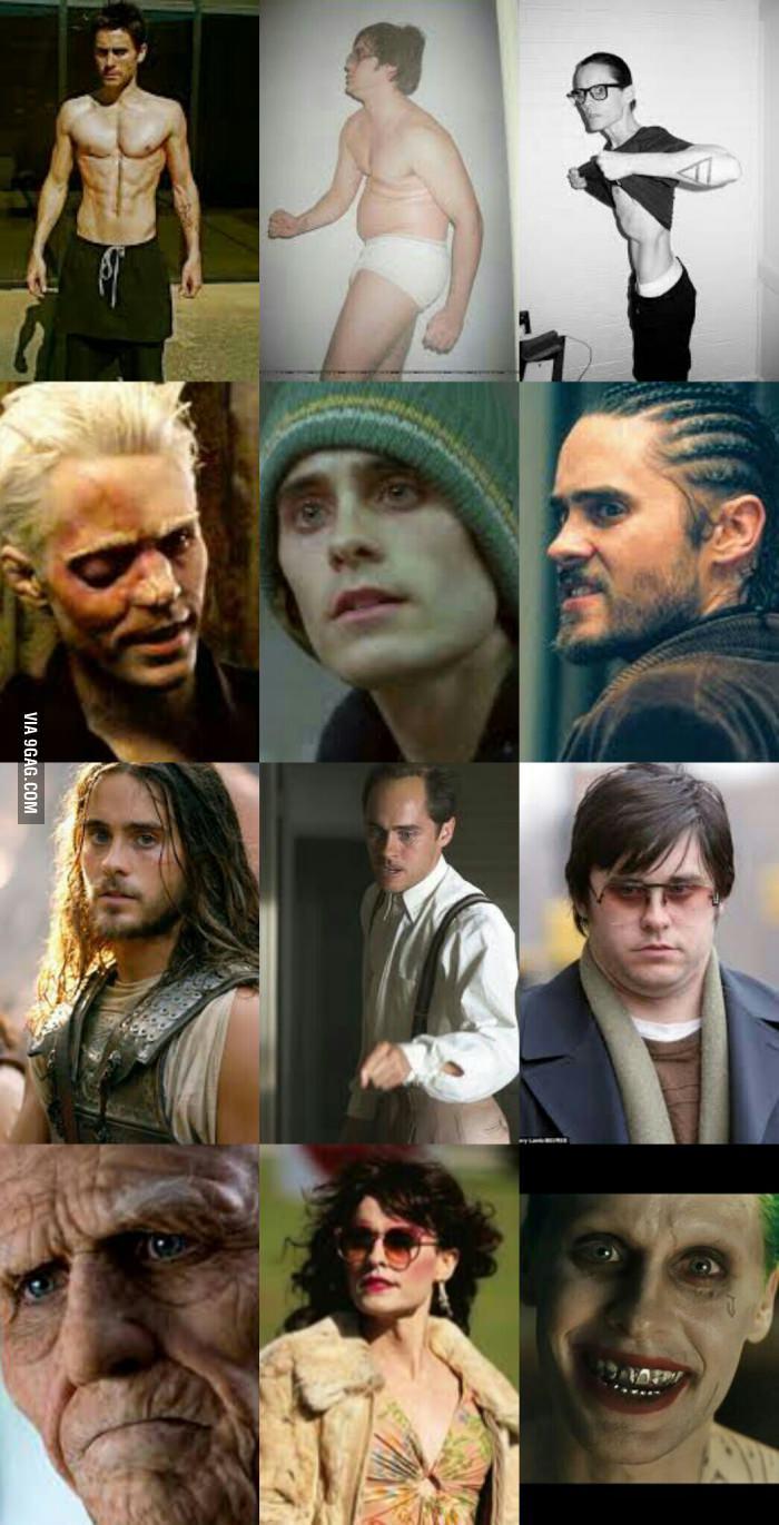 Un acteur à plusieurs faces - meme