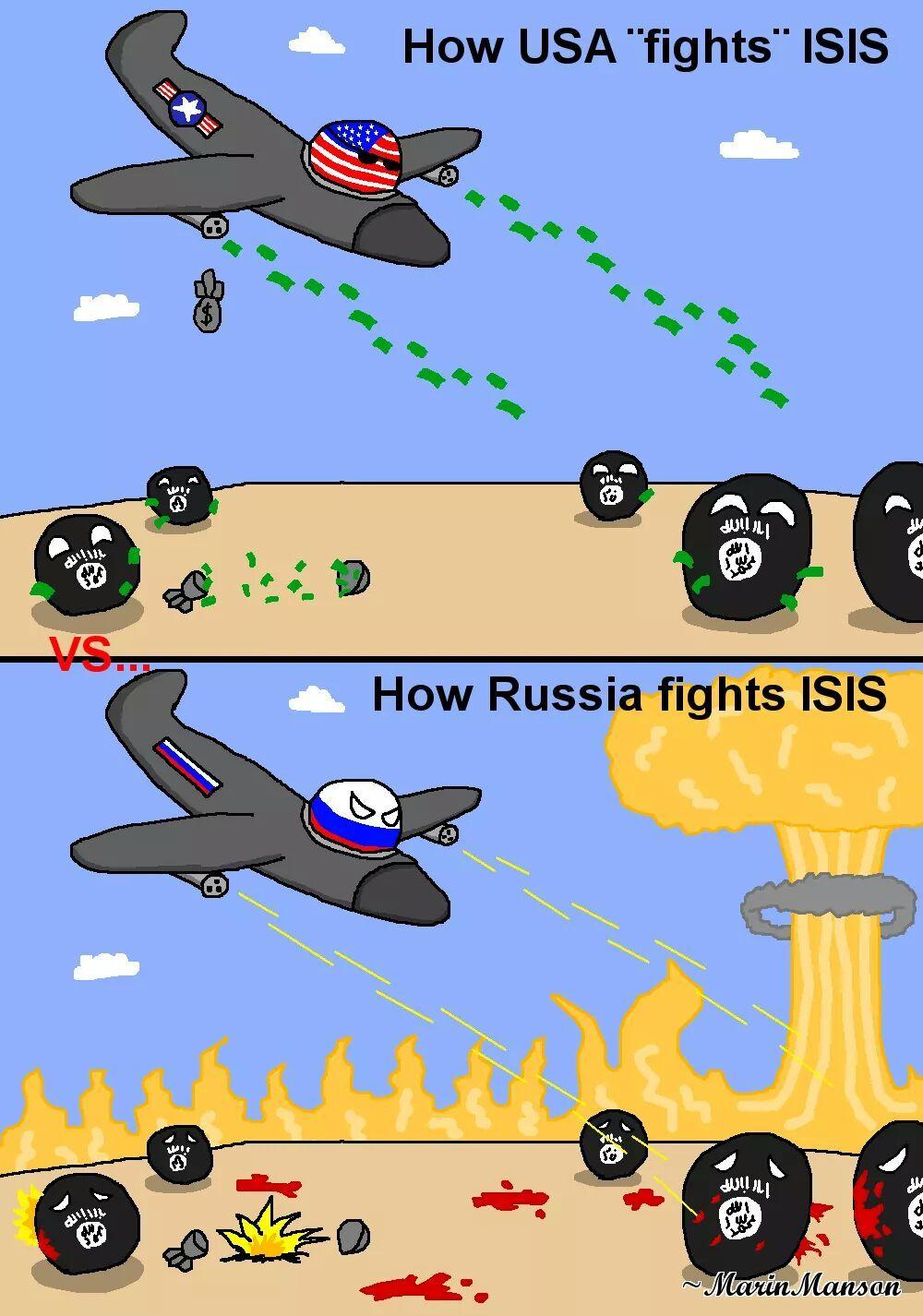 Esos rusos - meme
