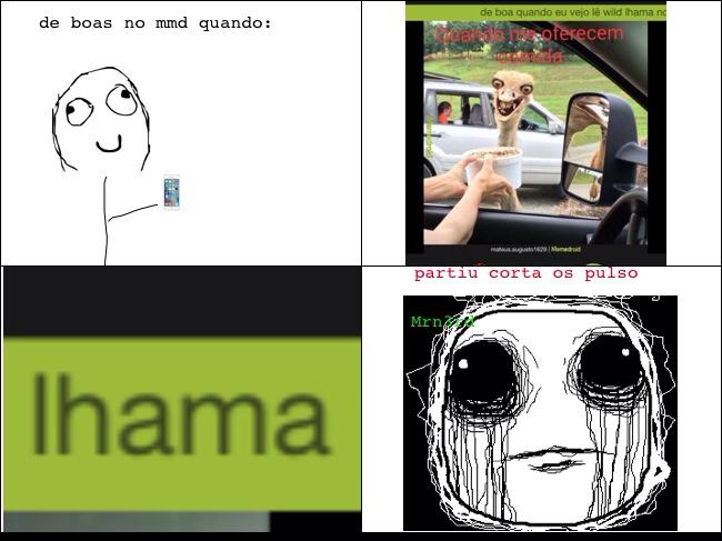 Lhama... - meme