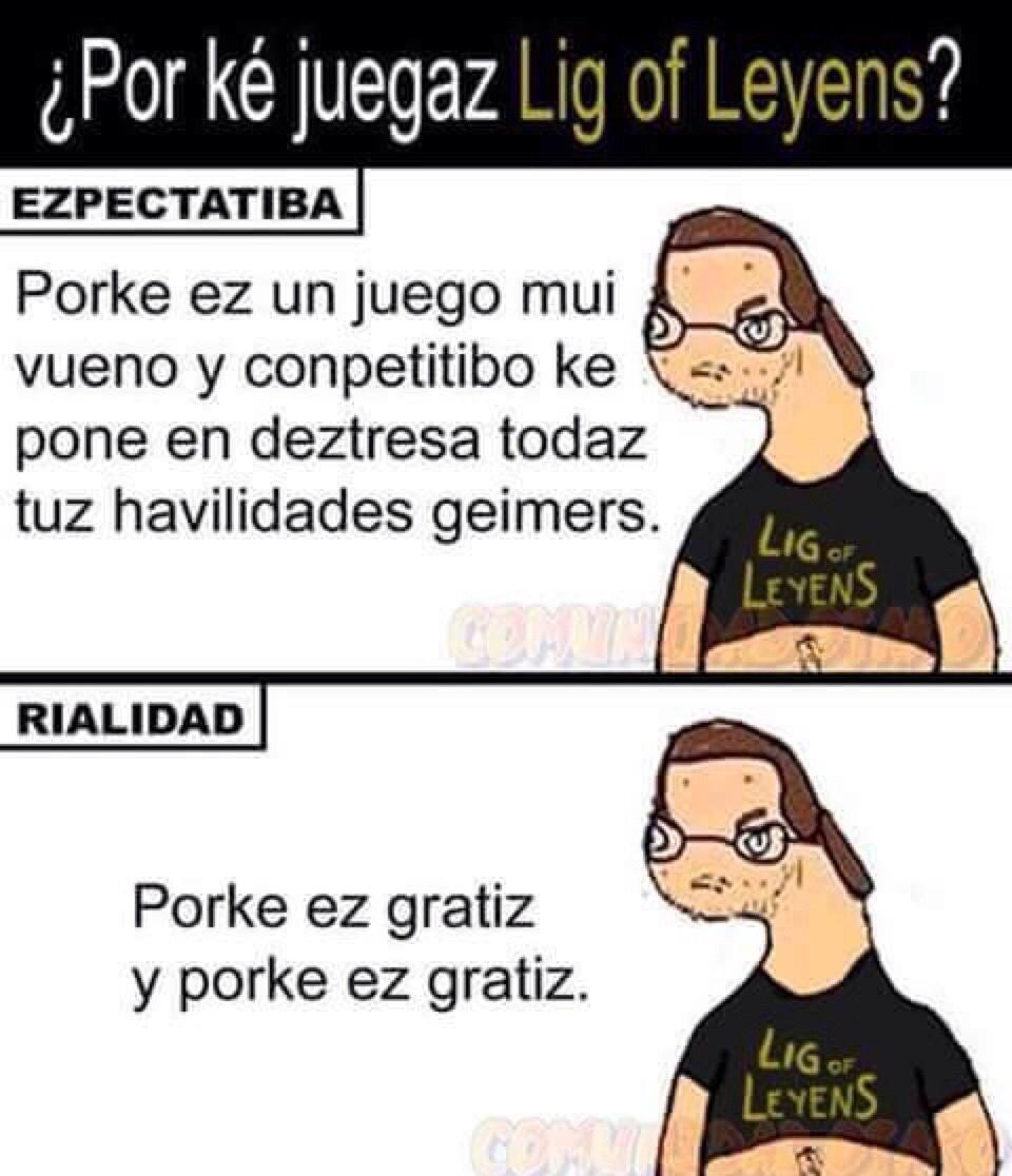 lig of leyens - meme