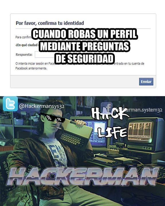 Hackerman!! :< - meme
