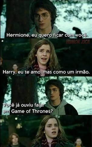 Harry  Thrones - meme