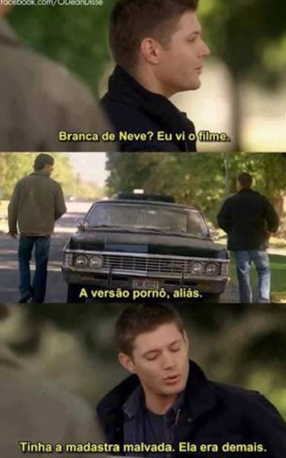 Esse Dean safadinho!!! - meme