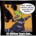 Why the dinosaurs really went extinct...