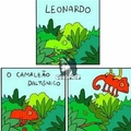 :') que pena Leonardo