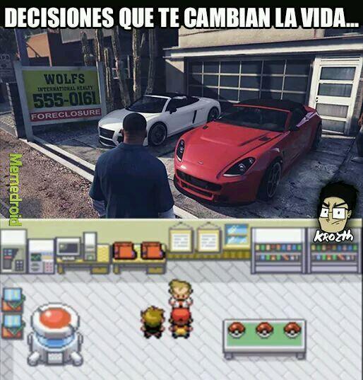 Decisiones - meme