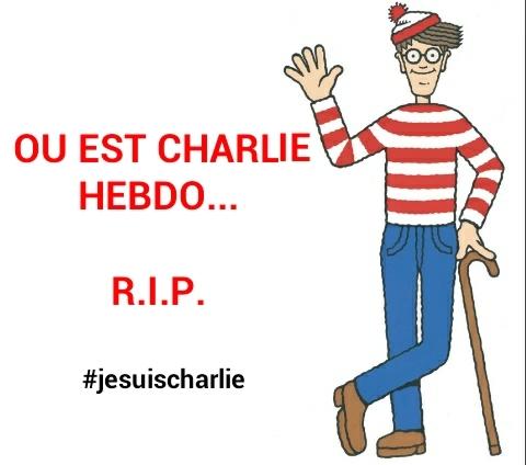 Ou est charlie hebdo... RIP - meme
