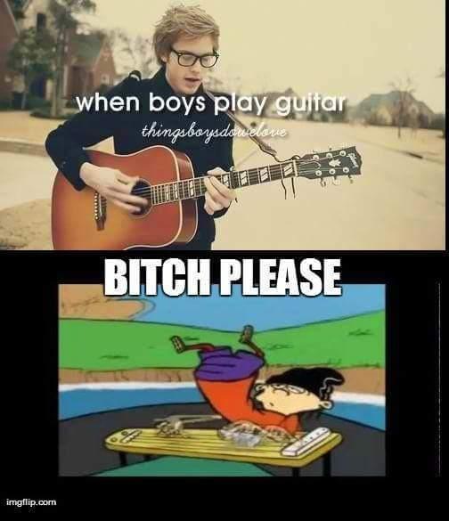 Guitar - meme