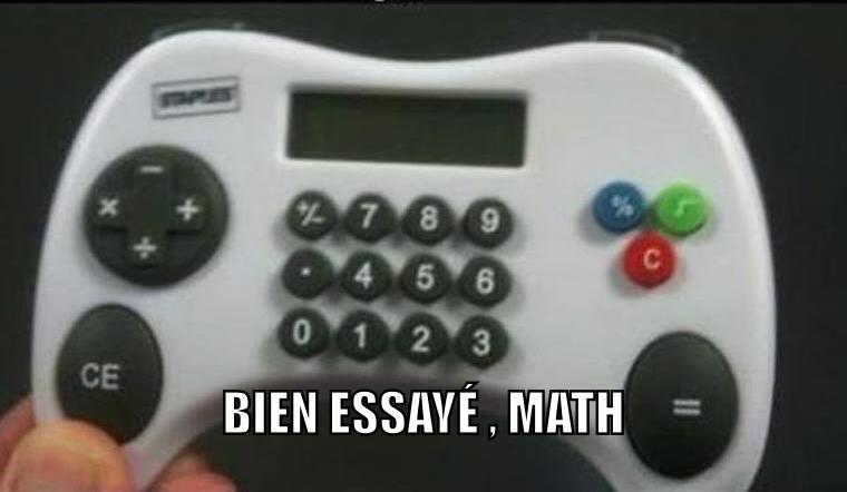 Math controller - meme