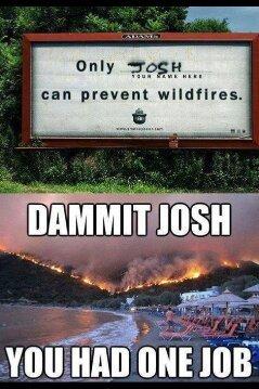 Dammit Josh! - meme