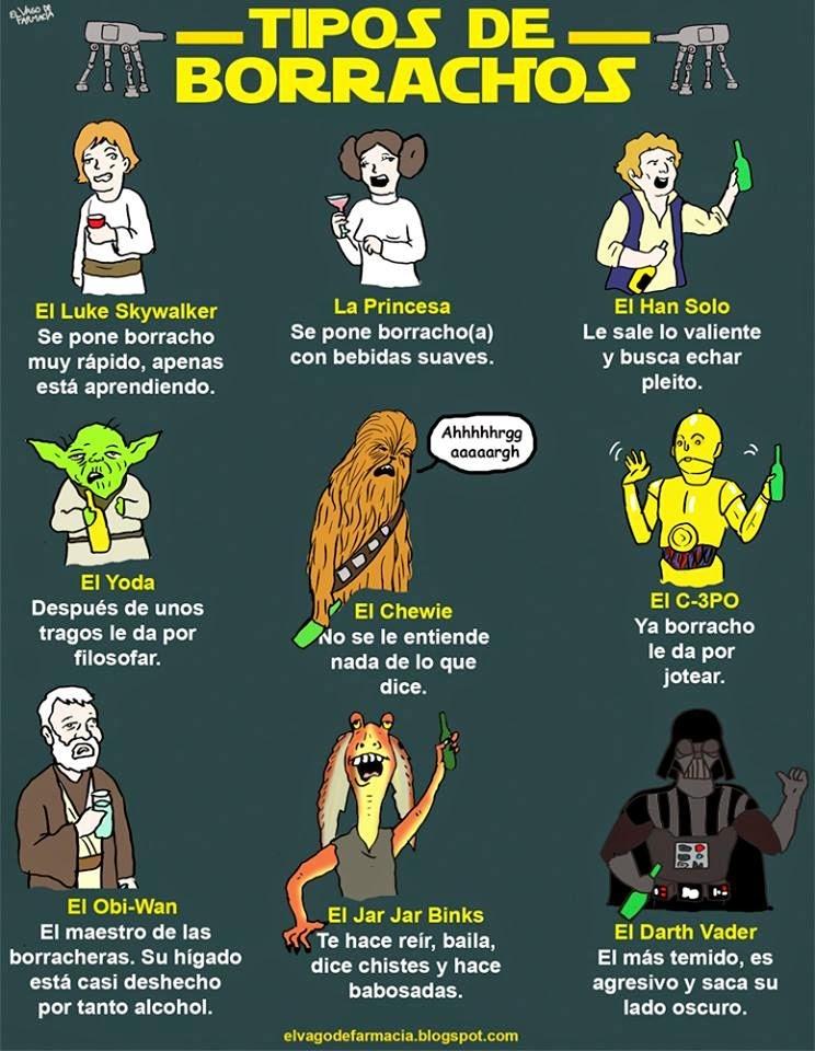 Borrachos de la galaxia - meme