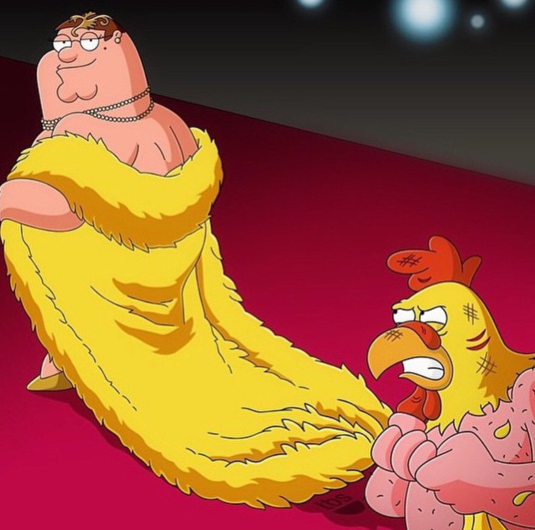 Peter wore it better...right? - meme