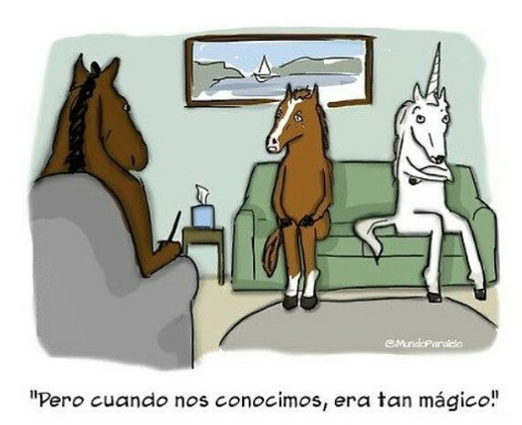 ^^ unicornios!!! - meme