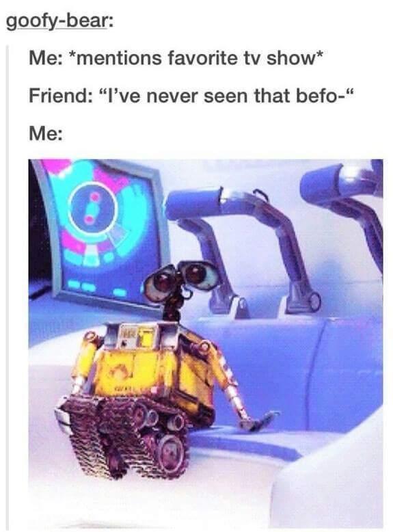 Favorite tv show ? - meme