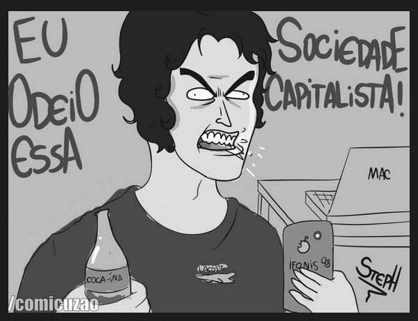Porcos capitalistas - meme