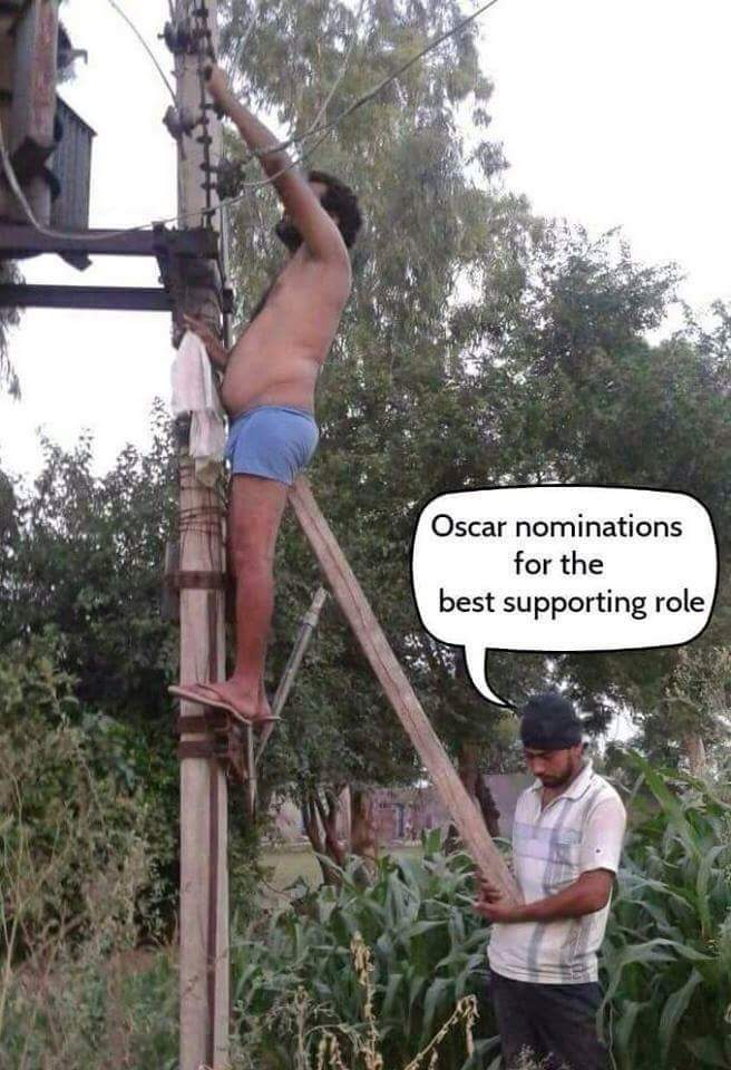 Supporting role - meme