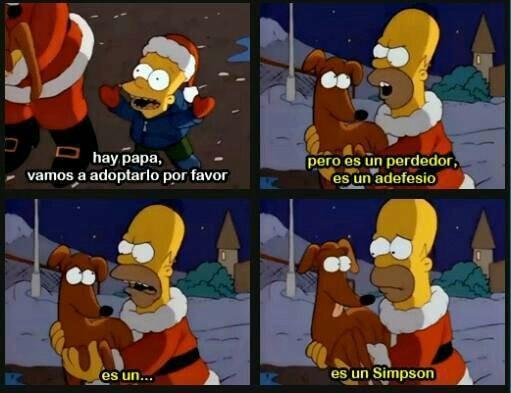 es un Simpson - meme