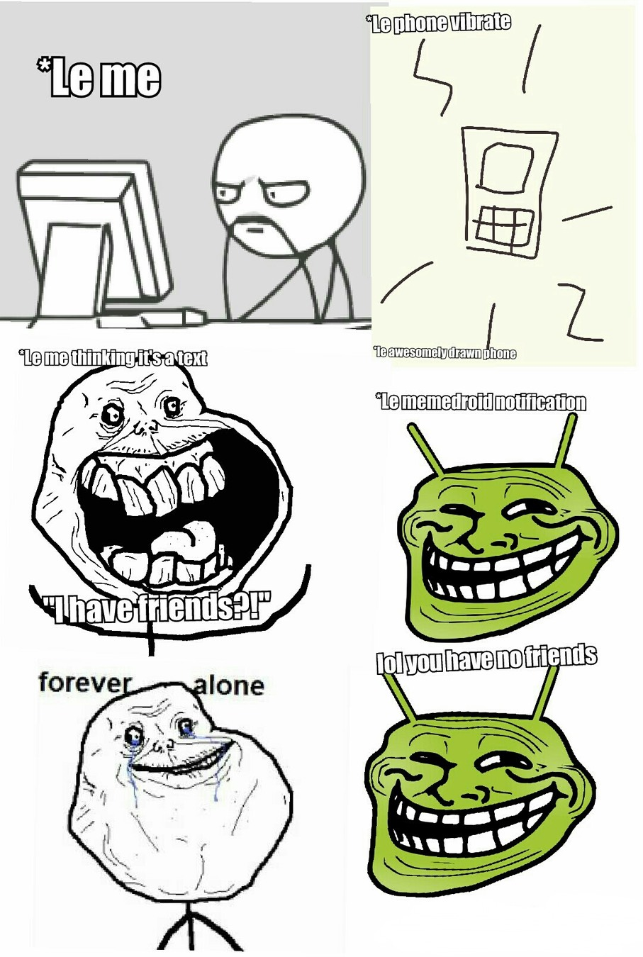 Title is forever alone - meme