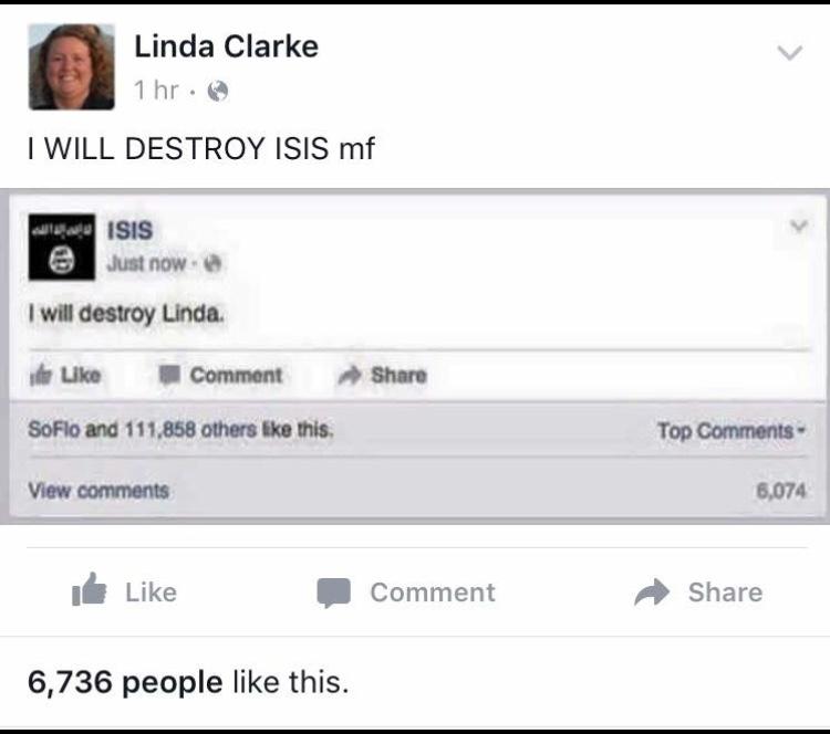 oh Linda - meme