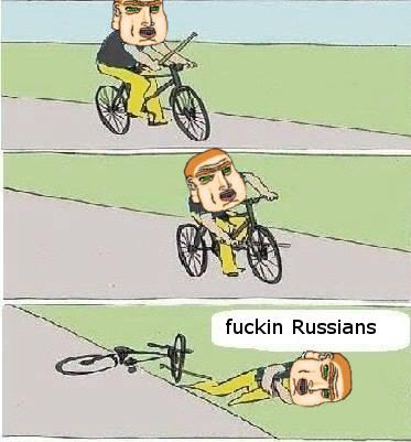 Putain de russe - meme
