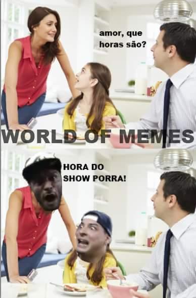 Bora porra HORA DO SHOW CARALHO - meme