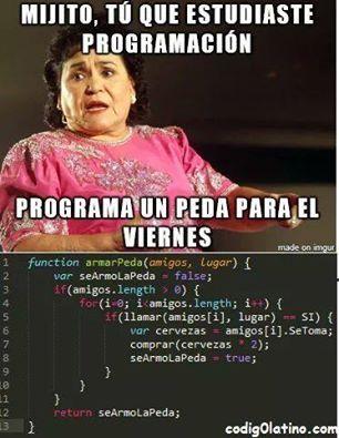 Programación :V - meme