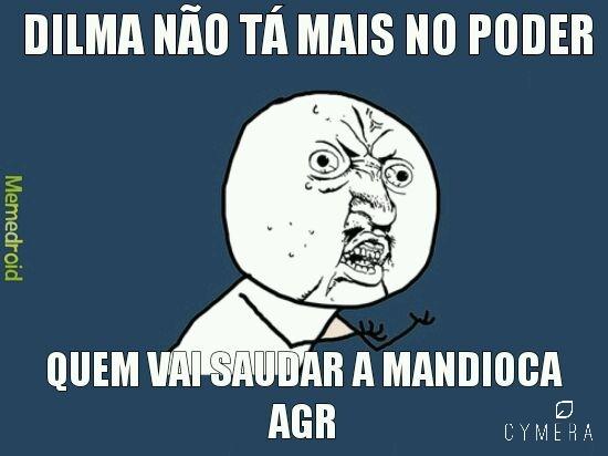 Mandiocas - meme